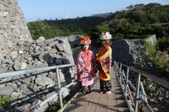 P1010490-Geishas-at-Nakijin-Castle